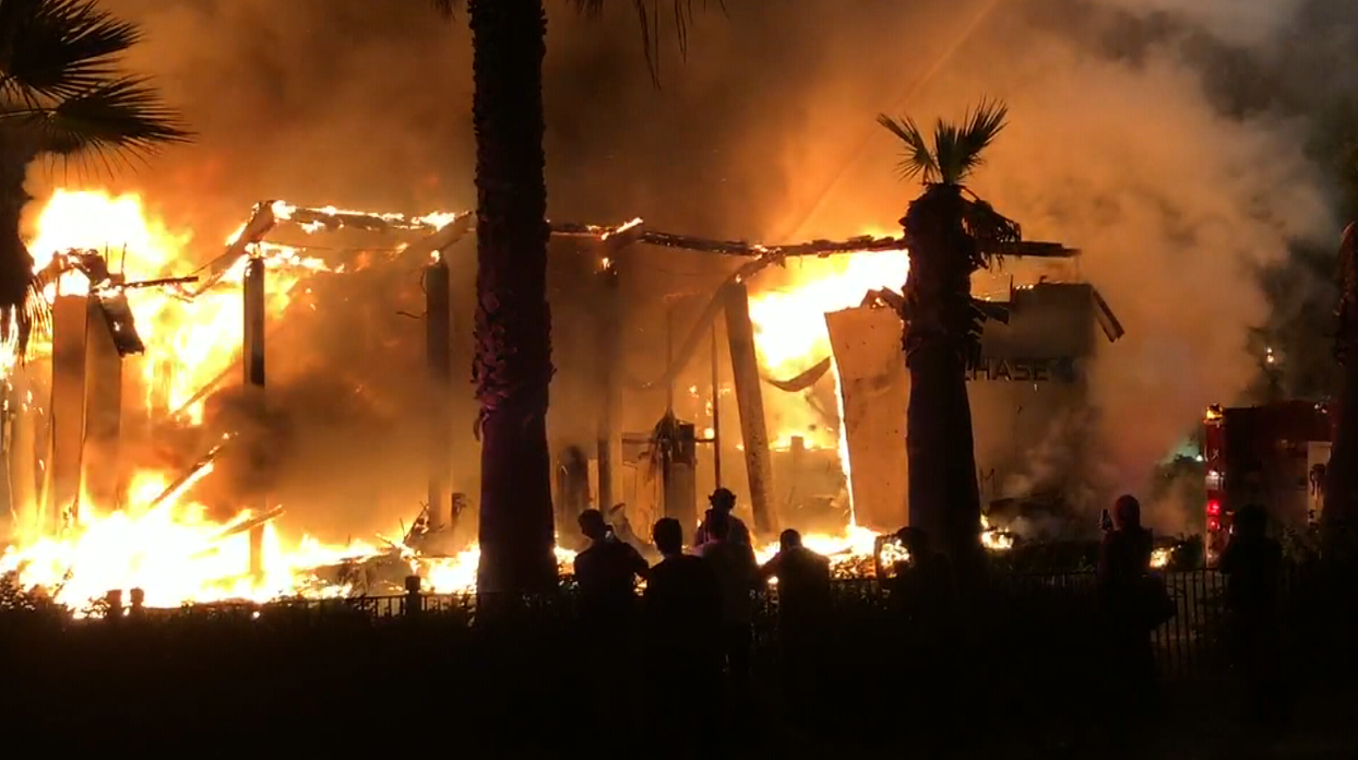 KFMB-TV was able to report from multiple vantage points during the San Diego's wildfires using the Dejero LivePlus mobile app, including from inside the fire zone