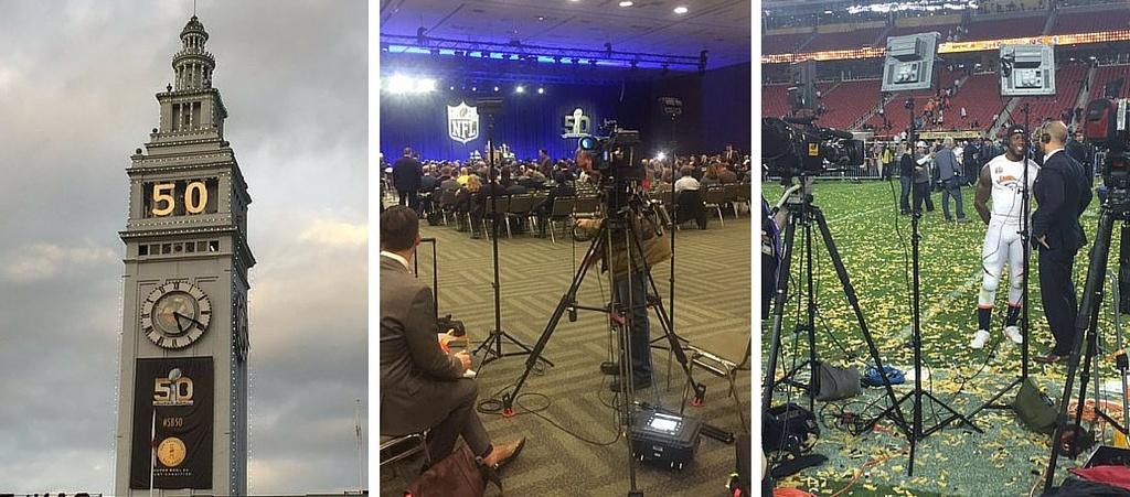 IP Newsgathering at Super Bowl 50