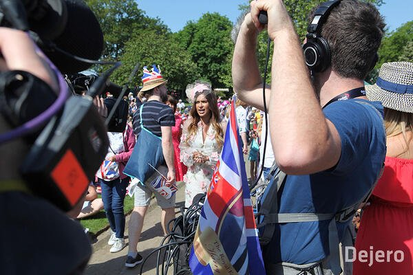 Canada's Broadcasters Team with Dejero and Intelsat to Overcome Live Connectivity Challenges at Royal Wedding