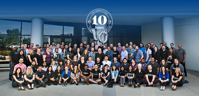 10th Anniversary - Dejero Team